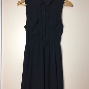 Black H&M  Dress Sheer + Lined